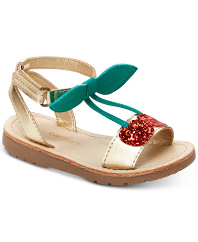 Carter's Cherries Sandals, Toddler & Little Girls