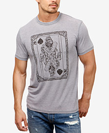 Lucky Brand Men's King of Hearts Graphic T-Shirt