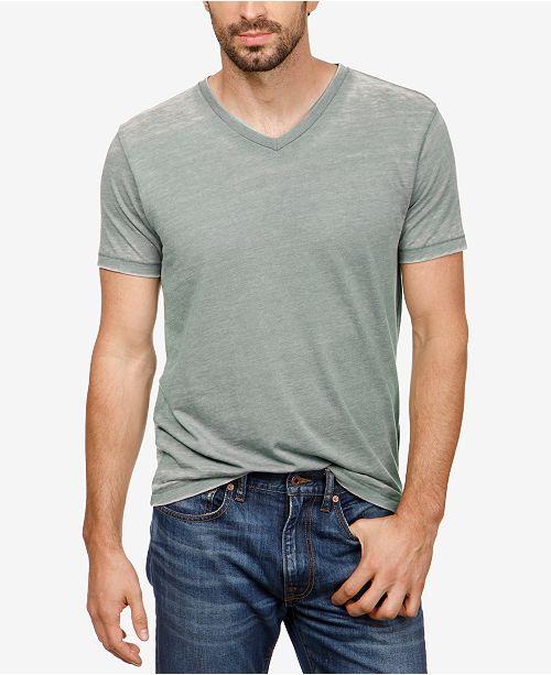 a0ce0ba8 Lucky Brand Men's Burnout V-Neck T-Shirt & Reviews - Home - Macy's