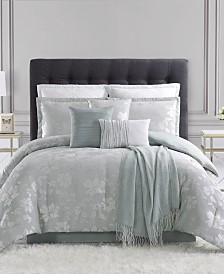 CLOSEOUT! Jardin 10-Pc. Full Comforter Set, Created for Macy's