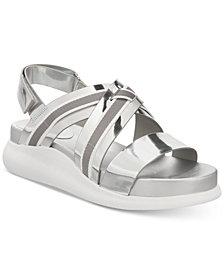 Cole Haan Zerogrand Chris Cross Wedge Sandals
