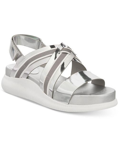 7b00d403c5ec Cole Haan Zerogrand Chris Cross Wedge Sandals   Reviews - Sandals ...