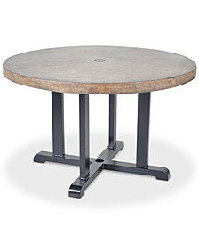 Bella 48'' Round Dining Table, Quick Ship