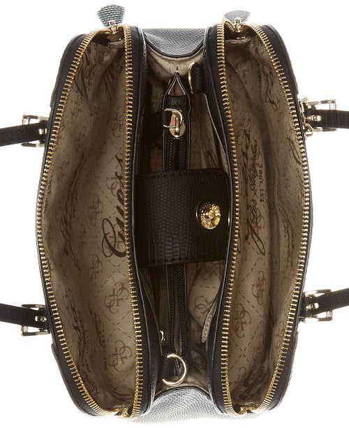 GUESS Huntley Small Cali Satchel   Reviews - Handbags   Accessories ... b27d2a0bc0b19