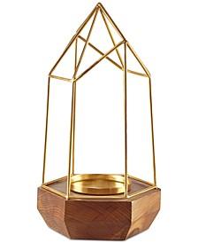 Madison Park Barraca Pyramid Candle Holder Large