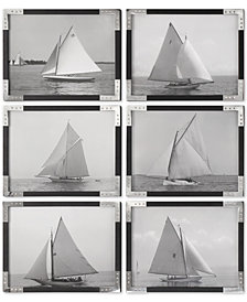 Uttermost Sailboats 6-Pc. Printed Wall Art Set