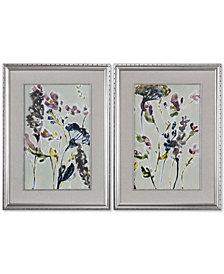 Uttermost Parchment Flower Field 2-Pc. Printed Wall Art Set