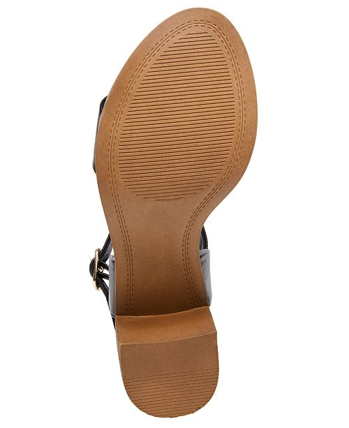 a3d5e5fb868 Steve Madden April Block-Heel City Sandals   Reviews - Sandals ...