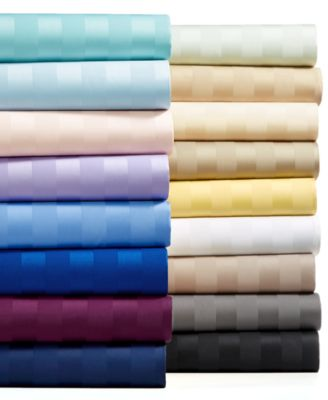 Charter Club Damask Stripe Extra Deep Pocket Sheet Sets 550 Thread
