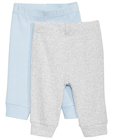 First Impressions Baby Boys 2-Pack Cotton Pants,  Created for Macy's