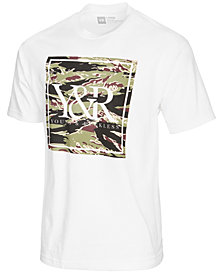 Young & Reckless Men's Tiger Trade Camouflage Logo-Print T-Shirt