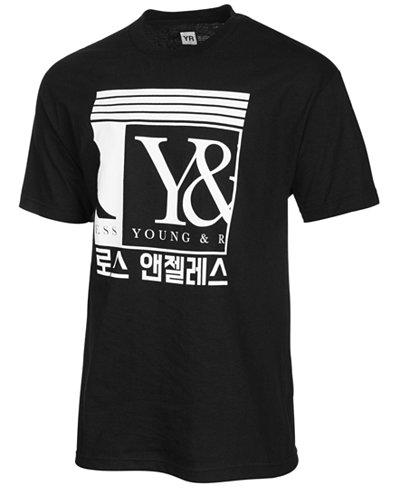 Young & Reckless Men's Busan Logo-Print T-Shirt