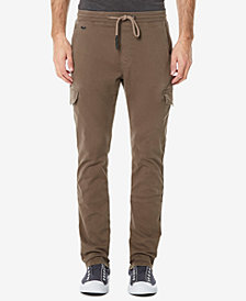 Buffalo David Bitton Men's Zoltan-X Stretch Cargo Jogger Pants
