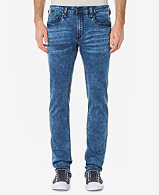 Buffalo David Bitton Men's Ash-X Slim-Fit Stretch Bleach Jeans