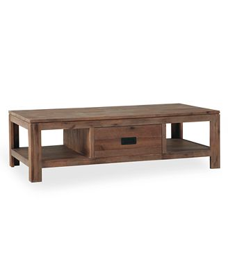 chagne coffee table created for macy s furniture macy s