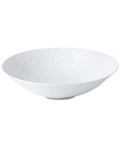WedgwoodWild Strawberry White Centerpiece Bowl