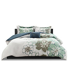 Mi Zone Allison 4-Pc. Full/Queen Duvet Cover Set