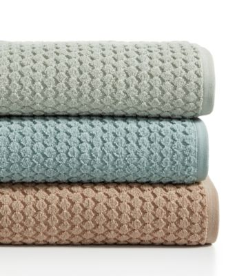 "Sculpted 30"" x 56"" Turkish Cotton Bath Towel, Created for Macy's"