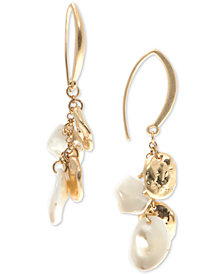 lonna & lilly Gold-Tone & Imitation Pearl Threader Earrings