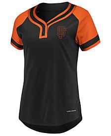 Majestic Women's San Francisco Giants League Diva T-Shirt