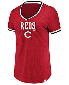 Majestic Women's Cincinnati Reds Driven by Results T-Shirt