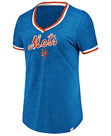 Majestic Women's New York Mets Driven by Results T-Shirt