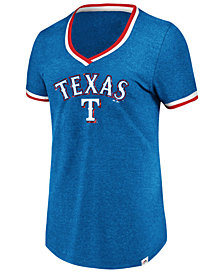 Majestic Women's Texas Rangers Driven by Results T-Shirt