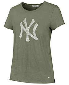 '47 Brand Women's New York Yankees Olive Fader T-Shirt