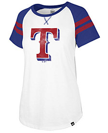 '47 Brand Women's Texas Rangers Flyout T-Shirt