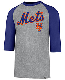'47 Brand Men's New York Mets Pregame Raglan T-shirt
