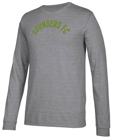 adidas Men's Seattle Sounders FC Arched Long Sleeve T-Shirt