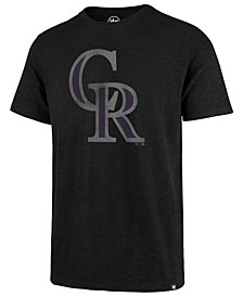 Men's Colorado Rockies Scrum Logo T-Shirt