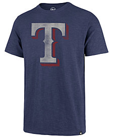 '47 Brand Men's Texas Rangers Scrum Logo T-Shirt