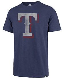 '47 Brand Men's Texas Rangers Scrum Logo T-Shirt