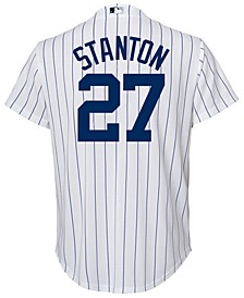 Giancarlo Stanton New York Yankees Player Replica Cool Base Jersey, Big Boys (8-20)