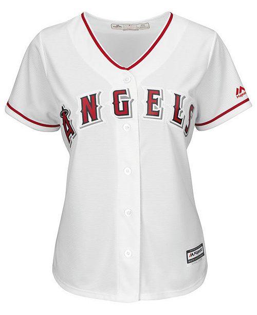 cb24f356e Majestic Women s Shohei Ohtani Los Angeles Angels Cool Base Player Replica  Jersey ...