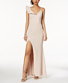 XSCAPE Ruffled Gown