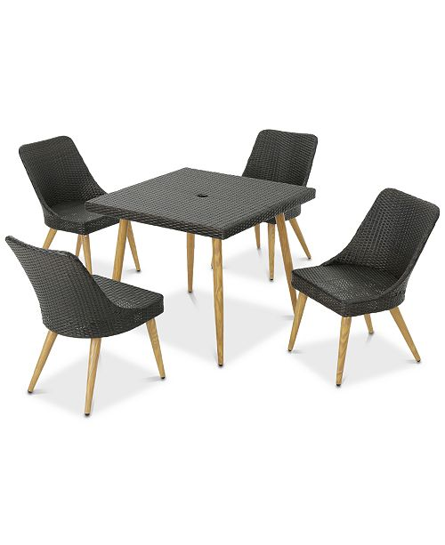 Furniture Chatsworth 5-Pc. Dining Set, Quick Ship