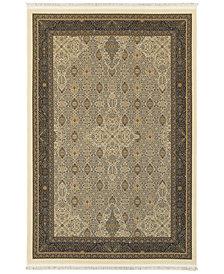 "Oriental Weavers Masterpiece Tabriz Ivory 3'10"" x 5'5"" Area Rug"