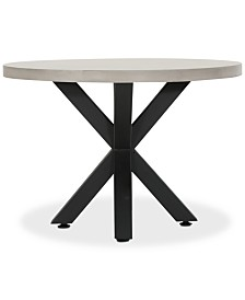 Truxton Round Dining Table, Quick Ship