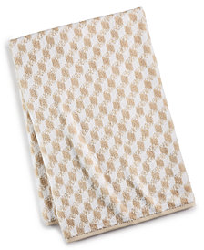 CLOSEOUT! Hotel Collection Cube Turkish Cotton Fashion Bath Towel, Created for Macy's