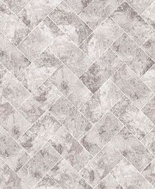Graham & Brown Travertino Taupe Wallpaper