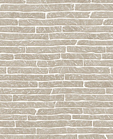 Graham & Brown Briquette Gray Wallpaper