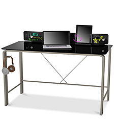 LED Computer Gaming Desk, Quick Ship