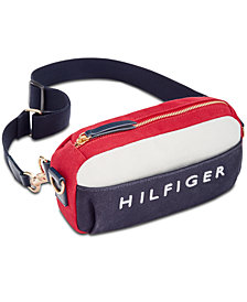Tommy Hilfiger Sporty Canvas Convertible Fanny Pack