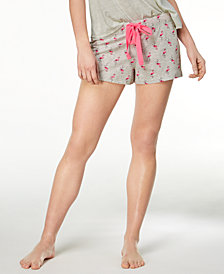 Jenni by Jennifer Moore Printed Cotton Boxer Shorts, Created for Macy's