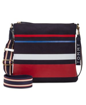 CLASSIC TOMMY CANVAS CROSSBODY