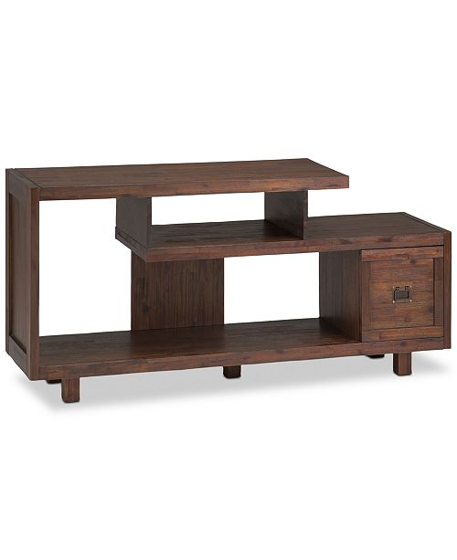 Simpli Home CLOSEOUT! Oswen Media Stand