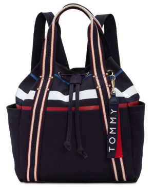 CLASSIC TOMMY CANVAS DRAWSTRING BACKPACK