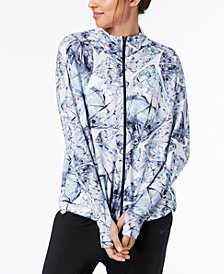 Nike Dry Printed Hooded Training Jacket